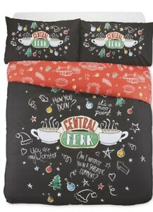 """FRIENDS THE TV SHOW """"CENTRAL PERK"""" DUVET COVER..DOUBLE OR KING SIZE..BRAND NEW"""
