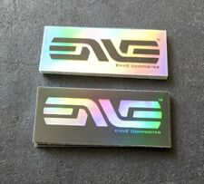Enve Vinyl Decal Stickers - Rapha Rainbow Iridescent Chameleon - Last Few UK!