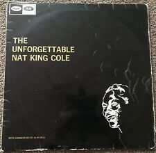 The Unforgettable Nat King Cole - Capitol Records - Vinyl / LP  - 1963 - G (G+)