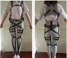 Attack On Titan Shingeki no Kyojin Cosplay Adjustable Harness Straps Belts HOT