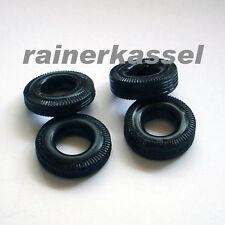 """Carrera Universal 132, Repro Reifen für die  """"Zigarren"""" kompletter Satz"""