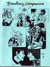 "Doctor Who Fanzine ""Traveling Companion 3"" Gen WKRP Phoenix, Star Trek TOS"