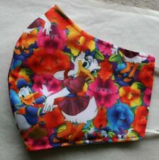 face mask covering protection handmade mask cotton Daisy Duck & Donald