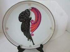 House Of Erte Plate Beauty And The Beast Ltd Ed Franklin Mint Collector Plate