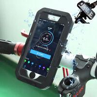 For iPhone 6 7 8 Plus Waterproof Motorcycle Bike Bicycle Handlebar Mount Holder
