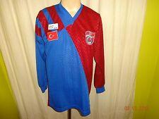 """Trabzonspor Original Langarm Matchworn Trikot 1983/84 """"ohne Sponsor"""" Nr.8 Gr.L"""