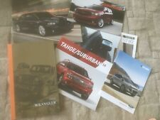 AMERICAN CAR VARIOUS BROCHURES.X 6.      USA MARKET