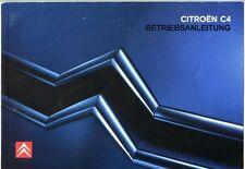 Betriebsanleitung : Citroën C4 (anleitung)