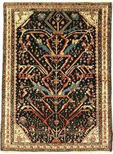 """New listing Antique Afsh-Ar ( Niri-Z ) Circa : 1900 Size : 4' 6"""" x 6' 2"""""""