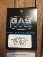 Bowtech Reckoning38 ,Green Gasbowstring Set