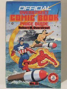 Vintage OVERSTREET Comic Book Price Guide #21 (1991)! Marvel Golden-Age!