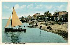 Herne Bay, Kent.  Beach Promenade Vintage Colour QS.200