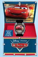 Disney PIXAR Cars Digital LCD Wristwatch w/ case-Lightning McQueen Team 95