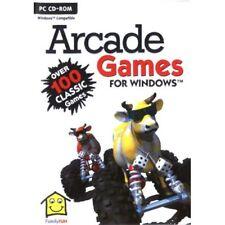 Famille de 100 jeux Arcade-PC CD-ROM Rétro - - Nouveau