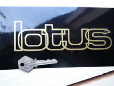 LOTUS Cut Out Text Car STICKER 165mm Elite Esprit Eclat Elan Exige Elise Race