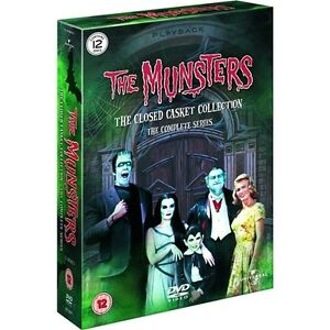 """THE MUNSTERS COMPLETE SERIES COLLECTION 12 DISC DVD BOX SET R4 """"NEW&SEALED"""""""