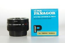 Super Panagor Auto Tele Converter 2x PMC-6 Contax Yashica Konverter YC - 10075