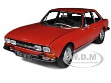 1971 PEUGEOT 504 COUPE RED 1/18 DIECAST MODEL CAR BY NOREV 184776