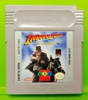 Indiana Jones Last Crusade -  Nintendo Game Boy Color GBC GB SP Advance Tested