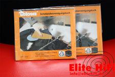 Original Telosa Schallplatten Reinigungstuch, Putztuch