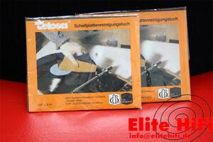 1 Stück Original Telosa Schallplatten Reinigungstuch, Putztuch