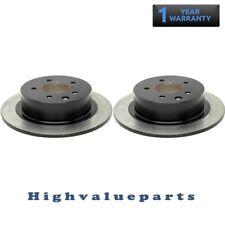 2 Disc Brake Rotors BR31312 Rear for Nissan Altima 2002-14 Juke 2011-14