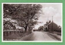 The Street Long Marston Nr Tadcaster York pc unused RAP Ref F311
