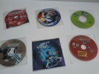 Disney Interactive PC CD-Rom Game Lot of 6 - Monsters Inc, Cars, Atlantis & more