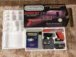 Nintendo Entertainment System NES Action Set Console Boxed (PAL)