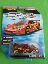 2010 Hot Wheels Speed Machines MCLAREN F1 GTR Red RIPPED CARD