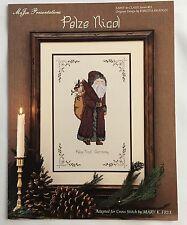 German Santa Cross Stitch Pattern Pelze Nicol Santa To Claus Chart #13 Mary Frye