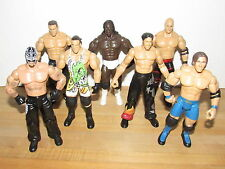Wwe Jakks Pacific Ruthless Aggression Lot of 7 Figures wwf wcw john cena kane