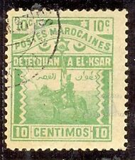 MARRUECOS CORREO LOCAL TETOUAN A EL KSAR EL KEBIR YT 1897 Nº155