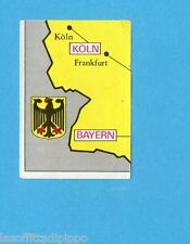 FOOTBALL CLUBS-PANINI 1975-Figurina n.72- CARTINA GERMANIA BRD 3/4 -Rec
