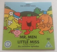 MR. MEN and LITTLE MISS The Sunday Times Promo DVD *FREE P&P*