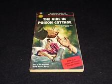 "Gold Medal 351 1953 PBO Hoffman/Bishop ""The GIRL IN POISON COTTAGE"" VG+"