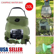 20L Portable Shower Heating Pipe Bag Solar Water Heater Outdoor Camping Camp