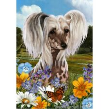 Summer Garden Flag - Chinese Crested 180691