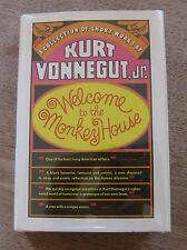 WELCOME TO THE MONKEY HOUSE by Kurt Vonnegut jr. - 1st/4th 1968 HCDJ VG+ stories