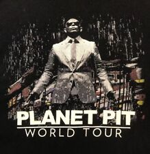 Pitbull Planet Pit 2012 Mr World Wide Tour Concert Tee T Shirt Men's XXL 2XL 2X