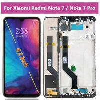 LCD Display Für Xiaomi Redmi Note 7 / Note 7 Pro Touch Screen Digitizer Frame AA
