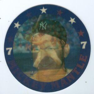 "Mickey Mantle New York Yankees Sportsflics Flicker Card hologram 4 1/2"" 1987"