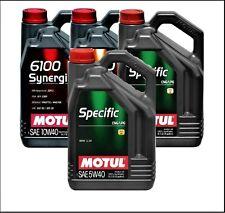 5 litri Motul 5w40 specifica CNG / LPG