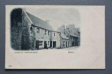 R&L Postcard: Scotland, Perth Fair Maid's House, Curfew Road Sign