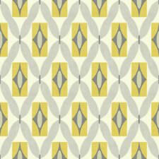 ARTHOUSE RETRO WALLPAPER QUARTZ YELLOW QUALITY FEATURE 70s WALLPAPER 640703