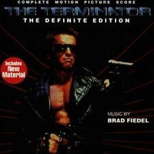 BRAD FIEDEL/OST- TERMINATOR-DEFINITE EDITION  CD  19 TRACKS SOUNDTRACK  NEU