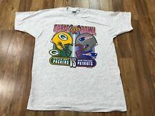 Xl - Vtg 1997 Nfl Super Bowl Xxxi Packers Vs Patriots 90s T-shirt Usa