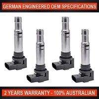 4x Ignition Coil for Audi A1 A3 Volkswagen Golf Jetta Polo Tiguan 1.4 1.6