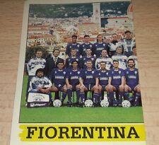 FIGURINA CALCIATORI PANINI 1994/95 FIORENTINA SQUADRA ALBUM 1995