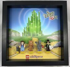 Lego Minifigure - Wizard Of Oz - Black Display Frame